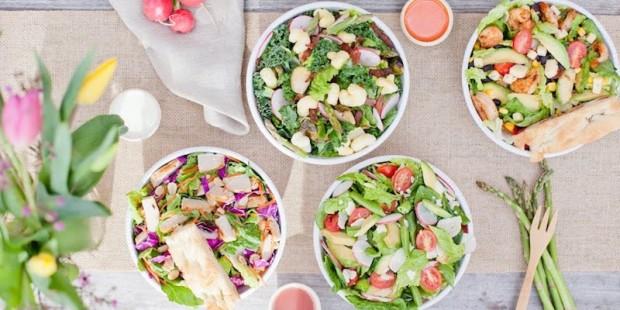 variety salad